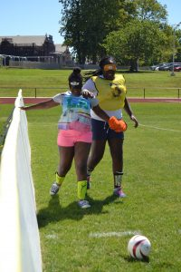 Soccer at Camp Abilities
