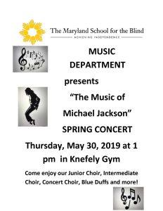 2019 Spring Concert Flyer