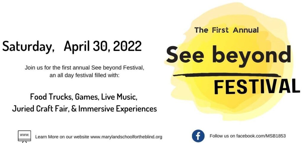 See beyond Festival Save the Date text box